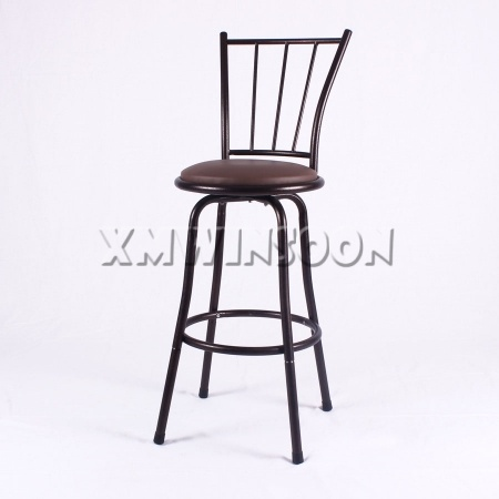 Metal Adjustable Swivel Bar Stools