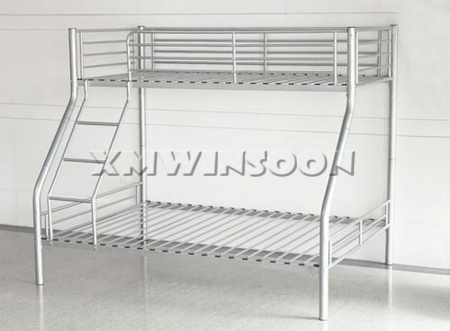 Twin Over Twin Queen Metal Bunk Bed
