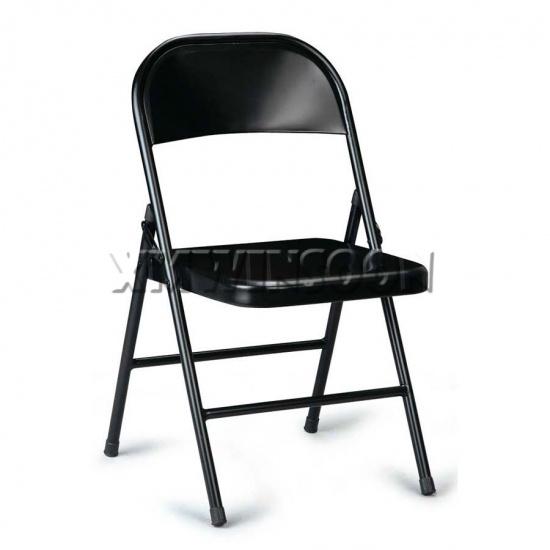 Cheap Black Heavy Duty Metal Folding Chairs AC0090 ...