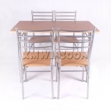 Cheap Metal Dining Room Table And Chairs Sets For 4 AA0200