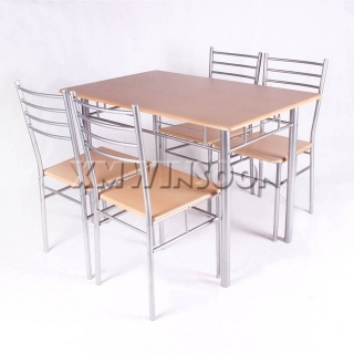 Metal Dining Room Table And Chairs
