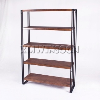 5 Metal MDF Display Storage Shelf