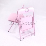 3 Piece Metal Kids Folding Table And Chairs Set AA5020