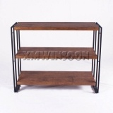 Open 3 Metal MDF Display Storage Shelf AE5010