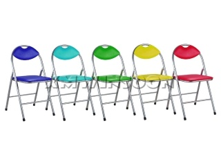 Metal Folding Chairs With Cushion