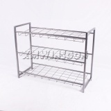 Cheap Small Size Metal 3 Tier Wire Shoe Rack AE4010