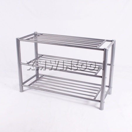 Metal Tube Shoe Rack For Small Spaces
