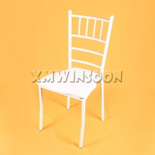 White Chiavari Chairs Wedding