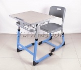 Wholesale Adjustable School Desk And Chair With Metal Frame AA9040