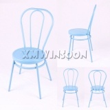 Colorful Metal Dining Chairs AC2211