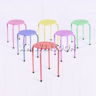 Metal Stackable Stools