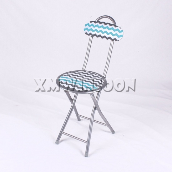 11 81 Round Seat Cheap Padded Metal Folding Chairs AC0133 Chinese Furniture M
