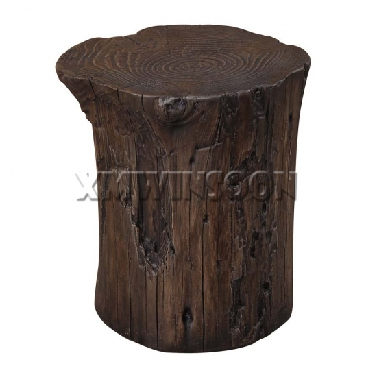 furniture made from tree stumps. Magnesium Oxide Tree Stump Stool AC9010 Furniture Made From Stumps