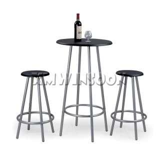 3 Piece Round Pub Table Sets