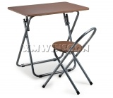 Wholesale Personal Metal Folding Table And Chairs With MDF Top AA0070