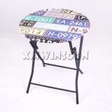 Wholesale Metal Round Folding Bar Height Table AB7010